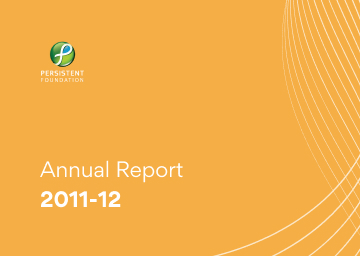 Persistent Foundation Annual Report 2011-12