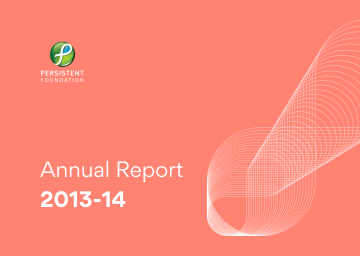 Persistent Foundation Annual Report 2013-14