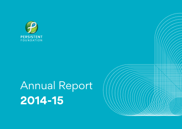 Persistent Foundation Annual Report 2014-15